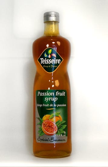 passion fruit syrup is a strawberry a fruit